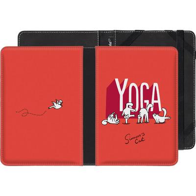 Kobo Aura eBook Reader Huelle - Yoga Cat von Simons Cat