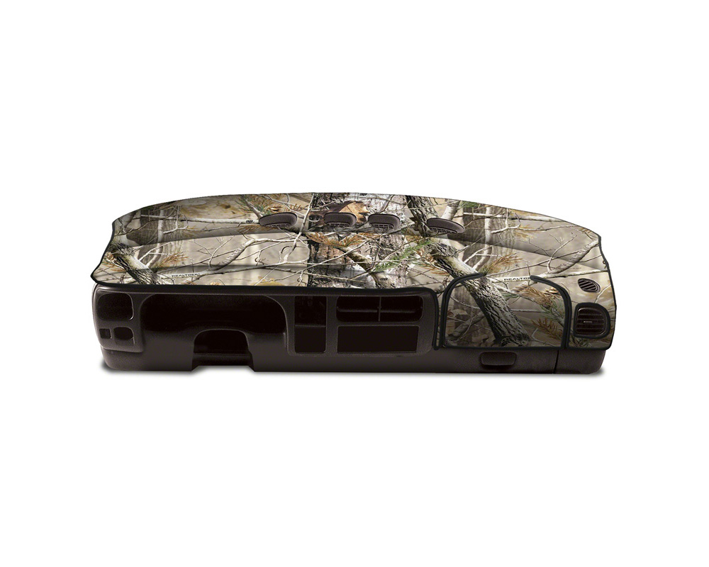 Cover King Custom Tailored Velour Dashboard Cover Realtree AP Toyota Tundra 2014-2020