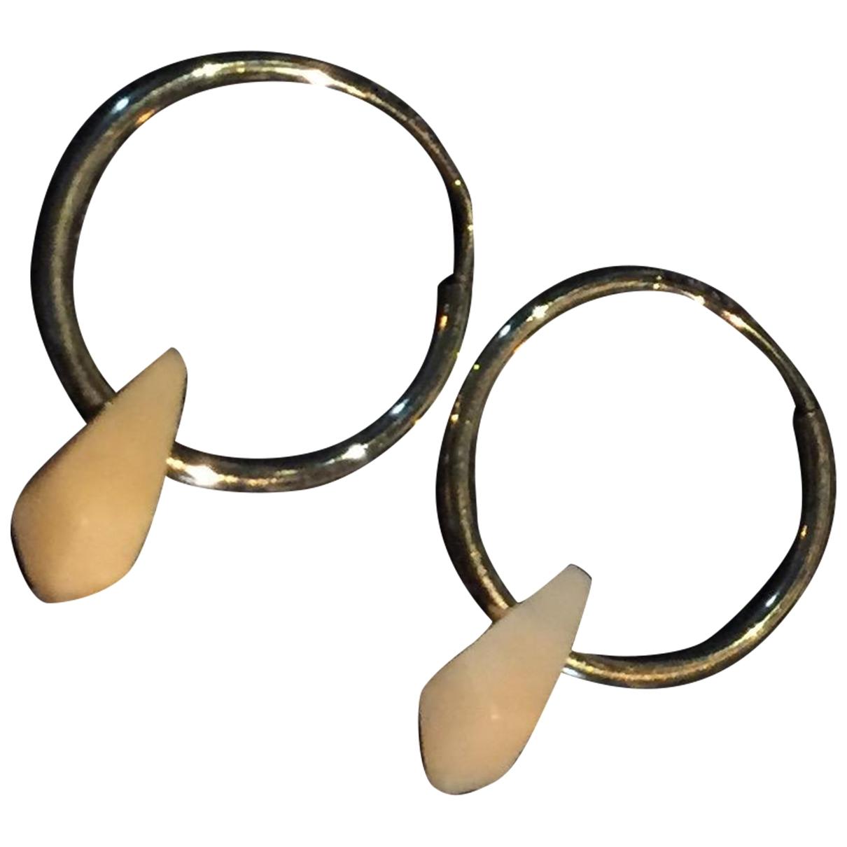 Isabel Marant - Boucles doreilles   pour femme en metal - dore
