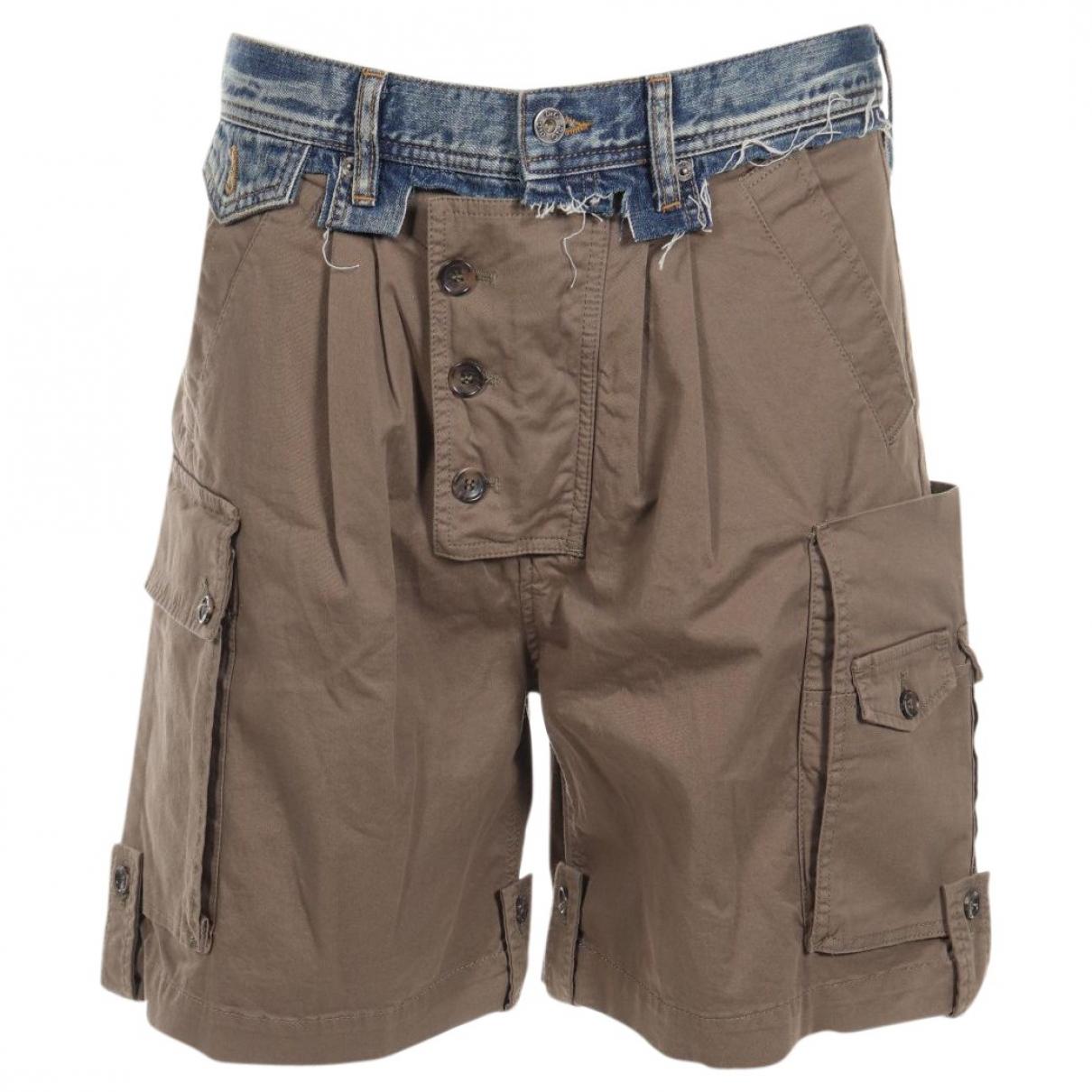 D&g \N Shorts in  Braun Baumwolle