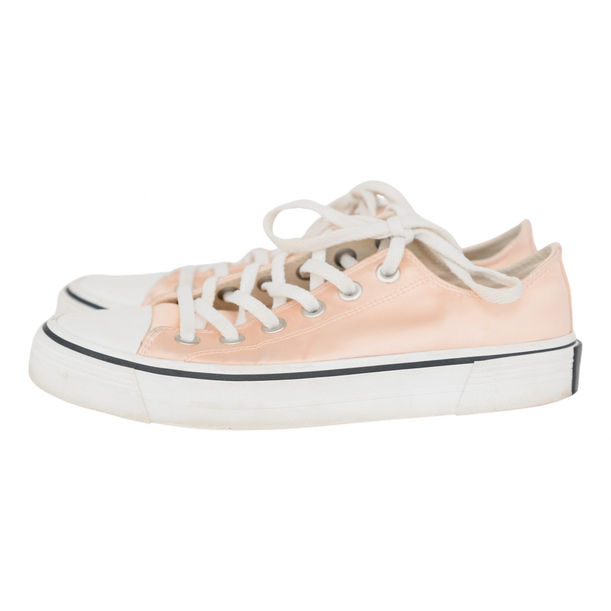Marc Jacobs N Pink Cloth Trainers for Women 37 IT