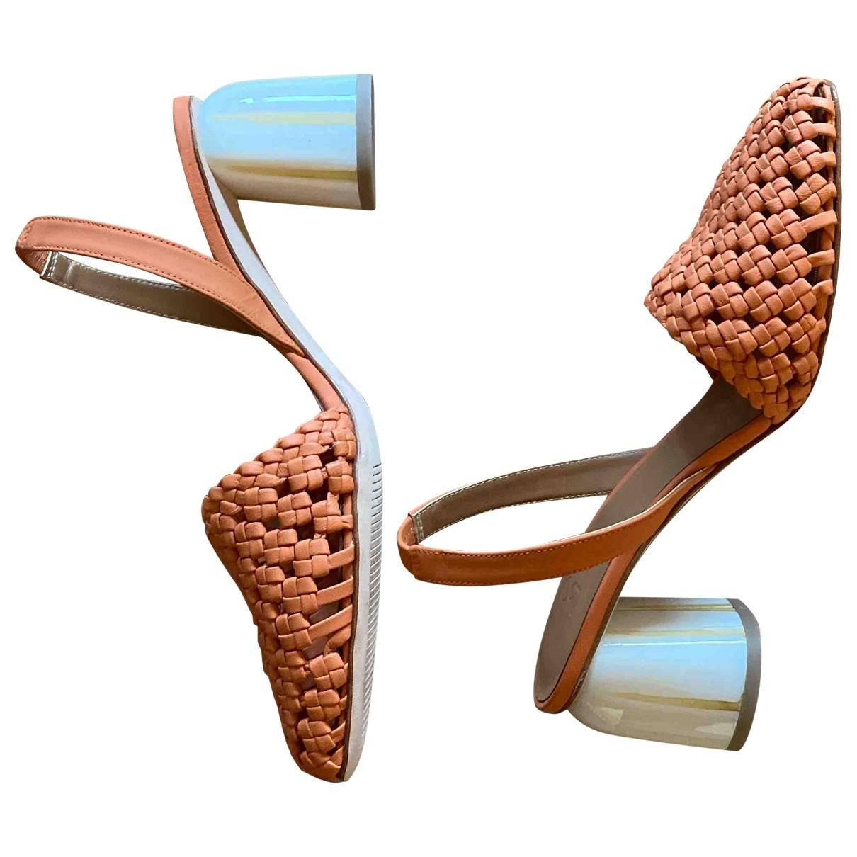 Loquet - Sandales   pour femme en cuir