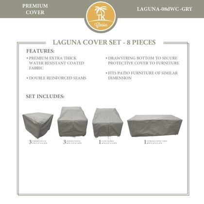 LAGUNA-08dWC-GRY Protective Cover Set  for LAGUNA-08d in