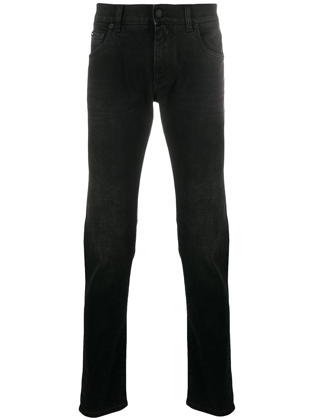 Stretch-cotton Denim Slim-fit Jeans