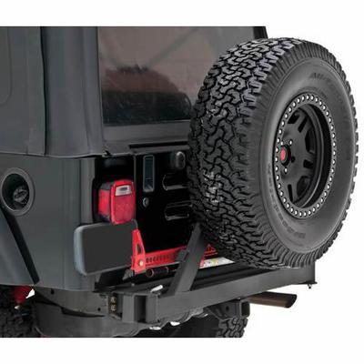Rancho Rear Bumper (Black) - RS6229B