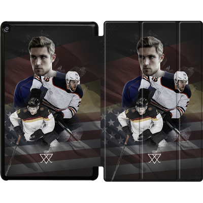 Amazon Fire HD 10 (2018) Tablet Smart Case - Leon Draisaitl America von Leon Draisaitl