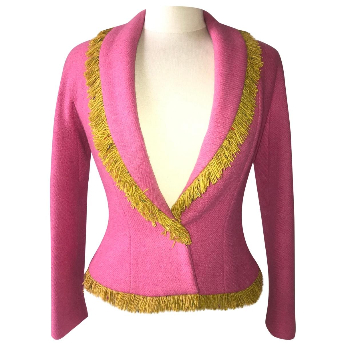 Dior \N Jacke in  Rosa Tweed