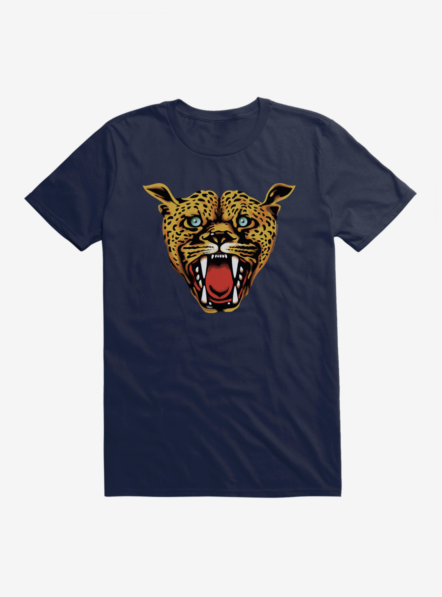 Iggy Pop Cheetah Face T-Shirt