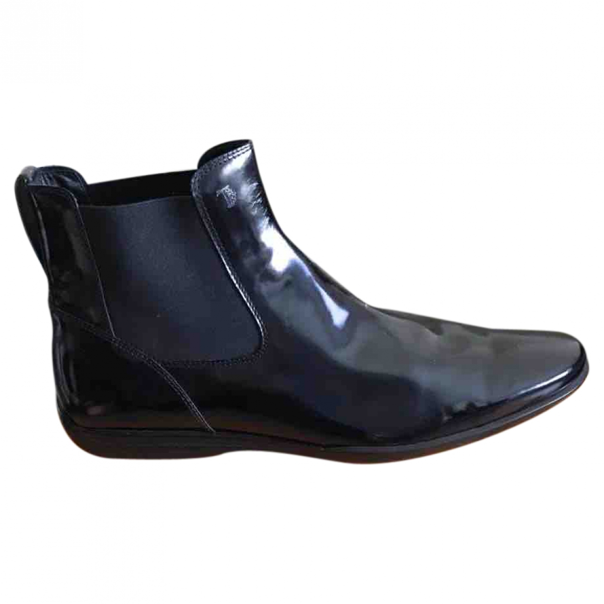 Tod's \N Black Leather Boots for Men 43.5 EU