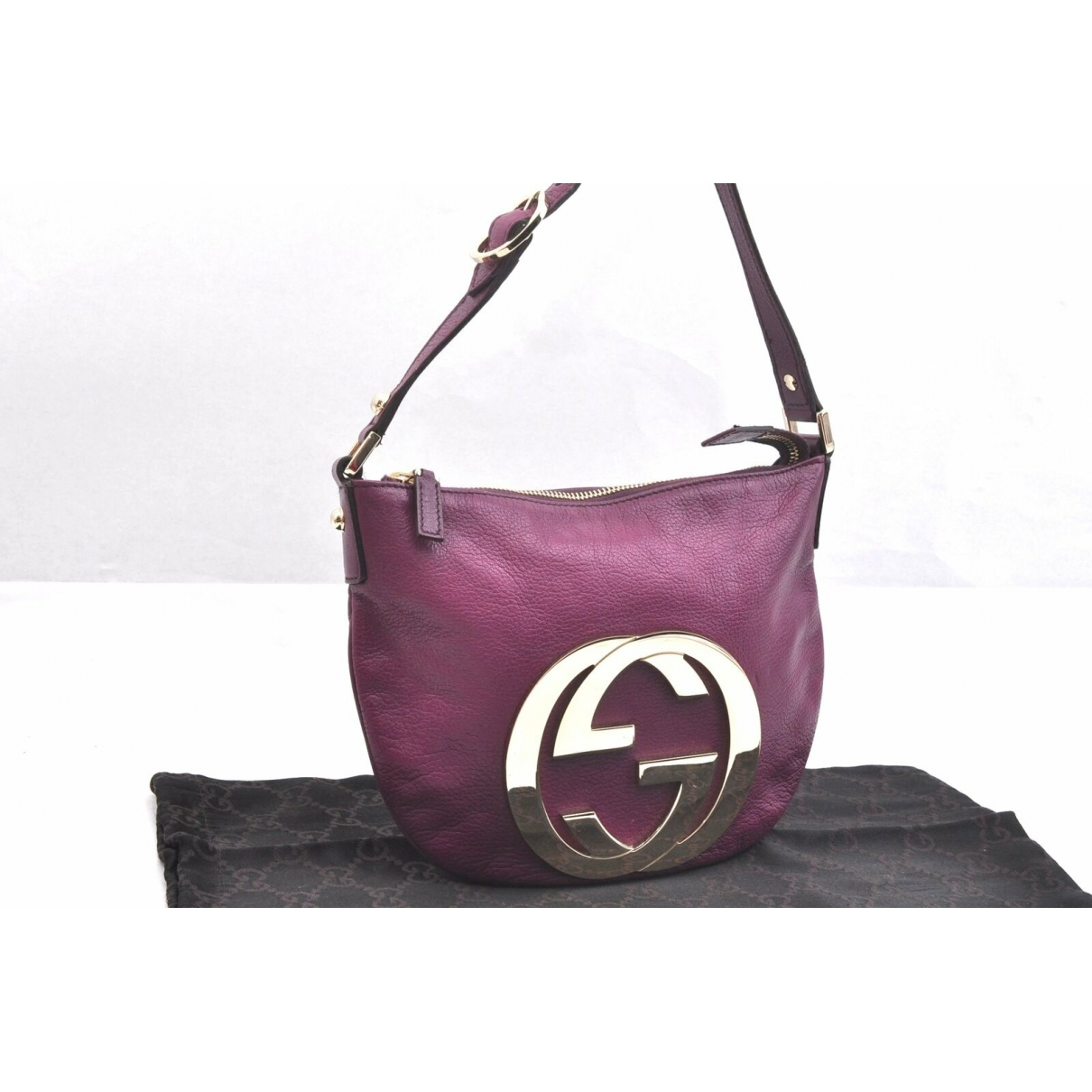 Gucci \N Purple Leather handbag for Women \N
