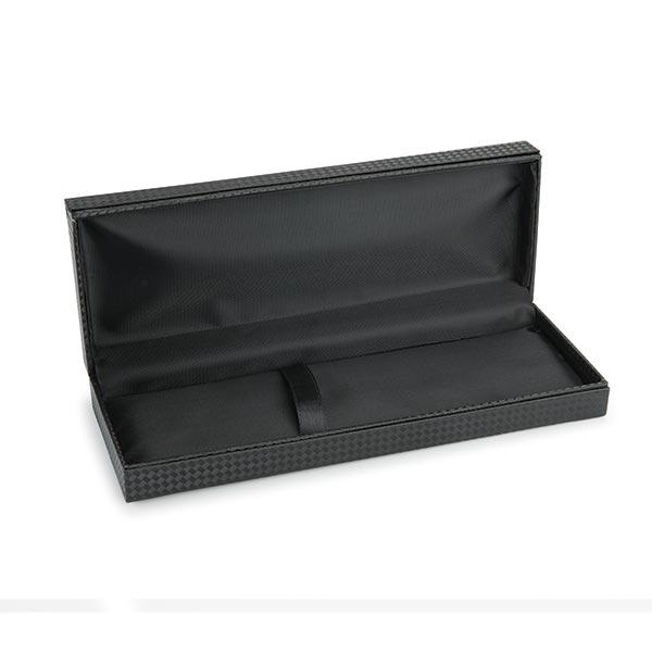 Black Carbon Fiber Texture Pen/Pencil Case