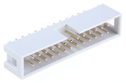 RS PRO , 26 Way, 2 Row, Straight PCB Header