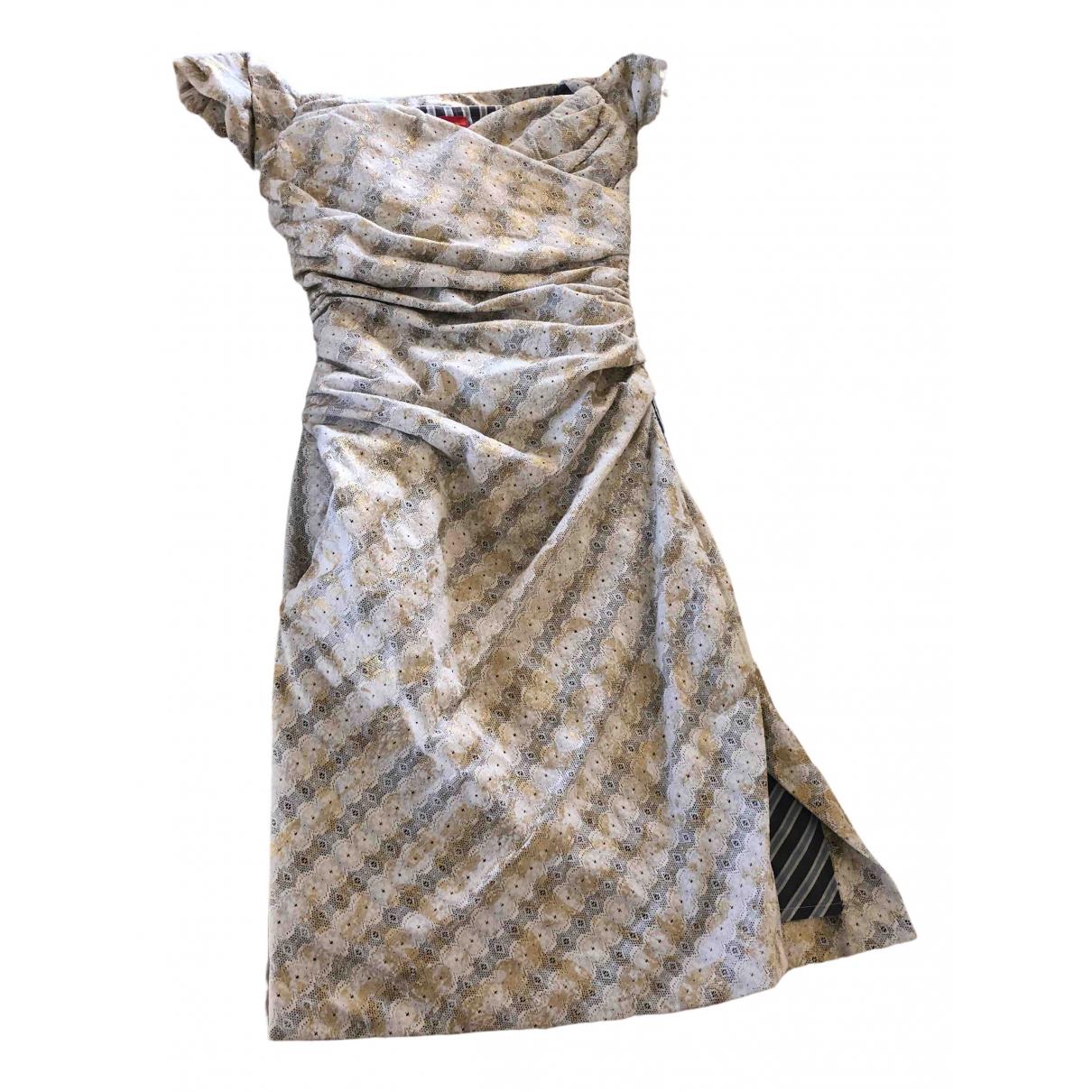 Vivienne Westwood Red Label \N Kleid in  Bunt Baumwolle