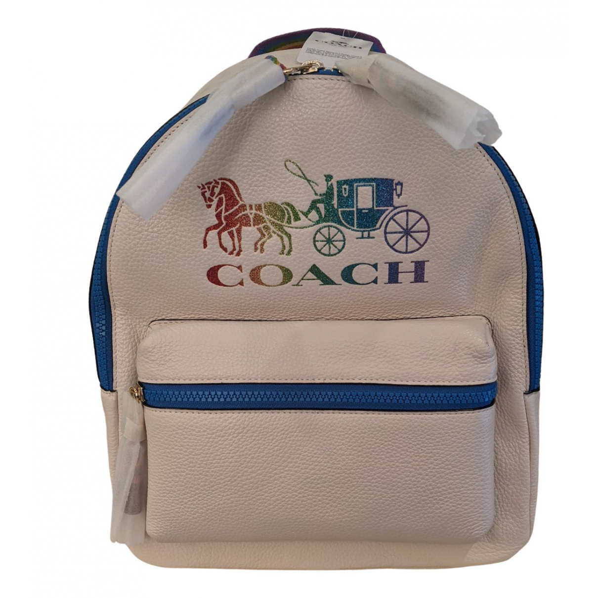 Coach Campus Multicolour Leather backpack for Women N