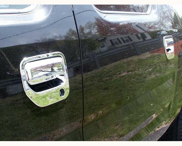 Quality Automotive Accessories ABS | Chrome Door Handle Cover Kit Honda Ridgeline 2010