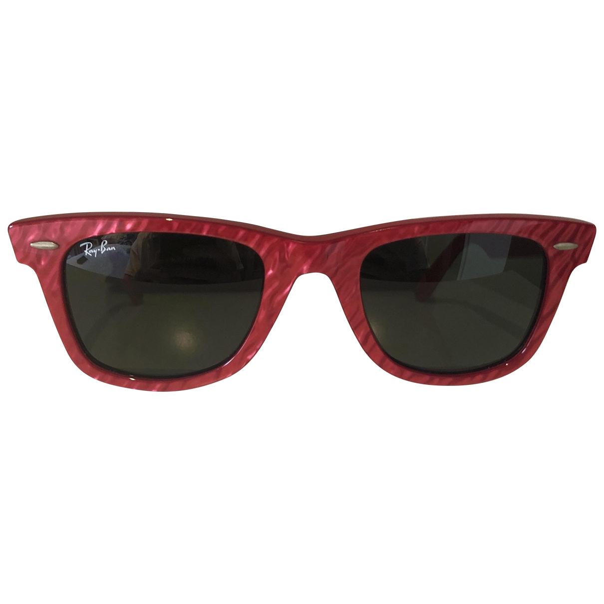 Ray-ban Original Wayfarer Red Sunglasses for Women \N