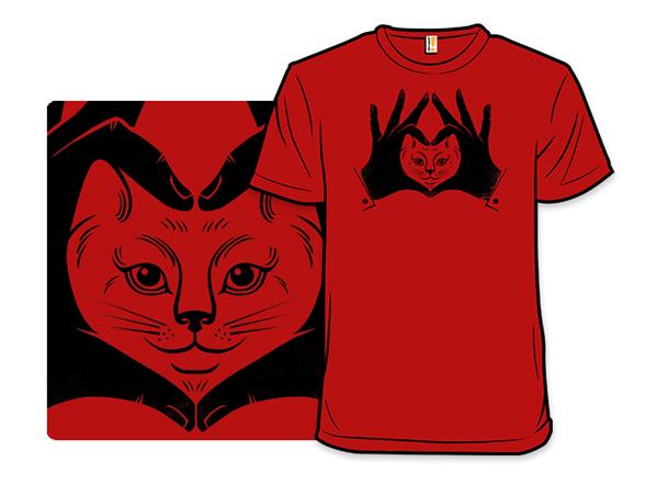 I Heart All Cats T Shirt
