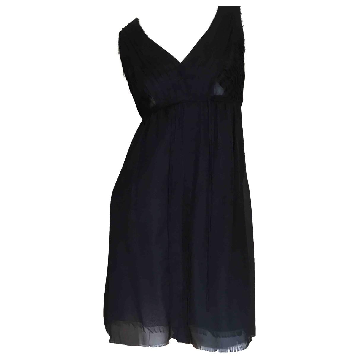 Zadig & Voltaire \N Black Silk dress for Women 36 FR