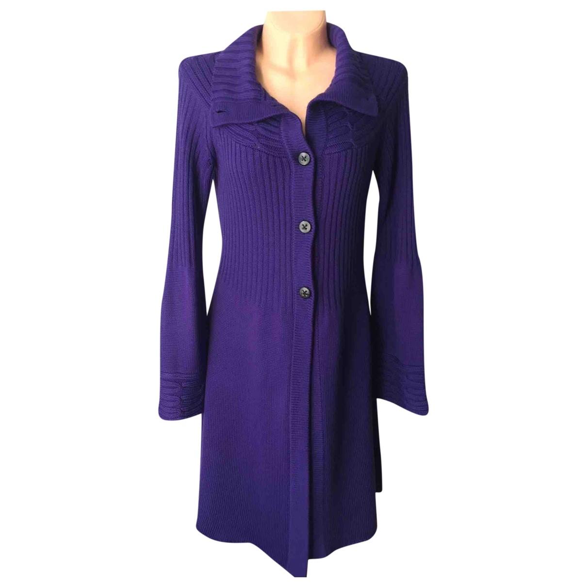 Laurel - Robe   pour femme en laine - violet
