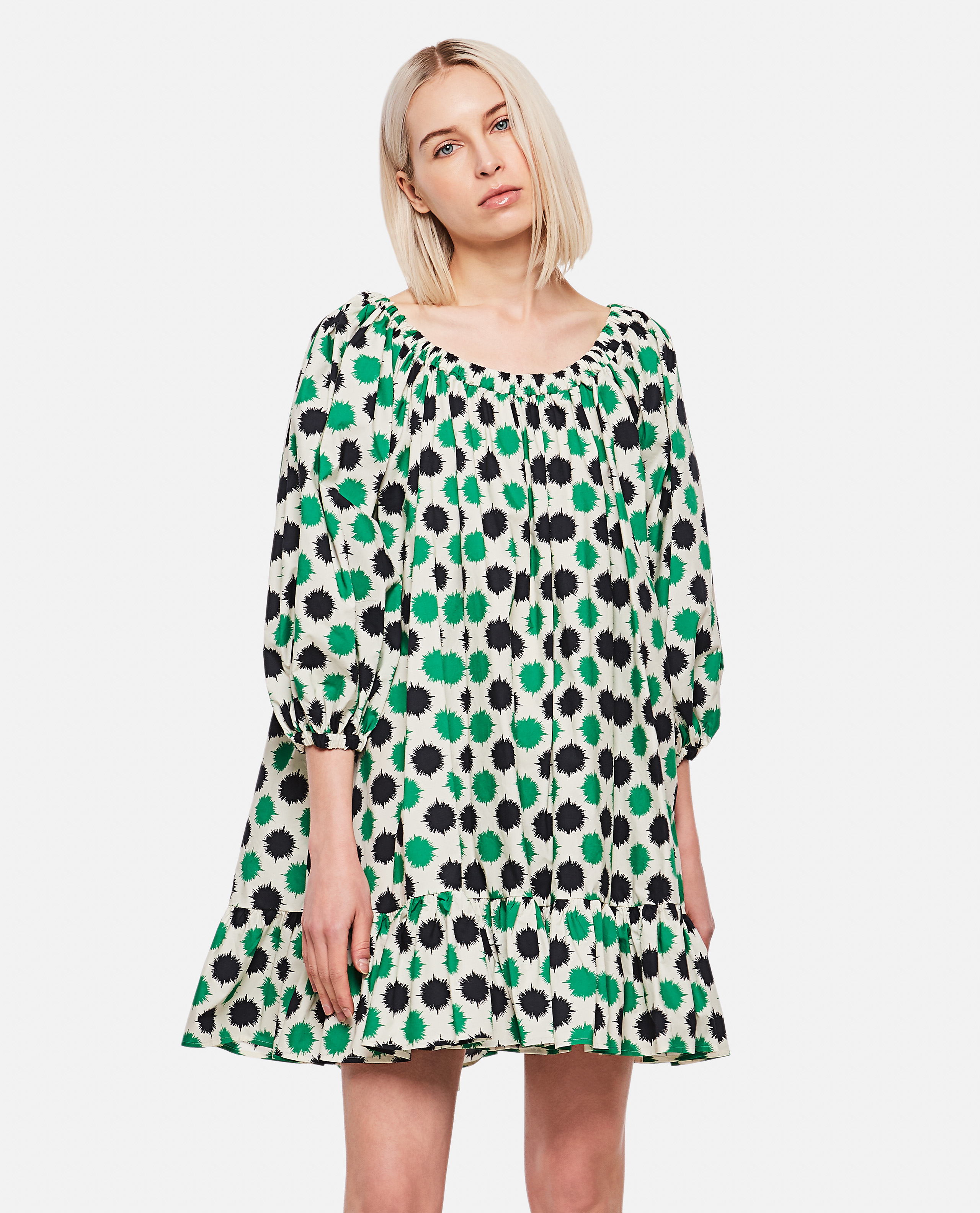Paloma print dress