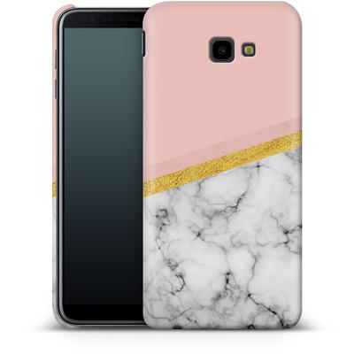 Samsung Galaxy J4 Plus Smartphone Huelle - Marble Slice von caseable Designs