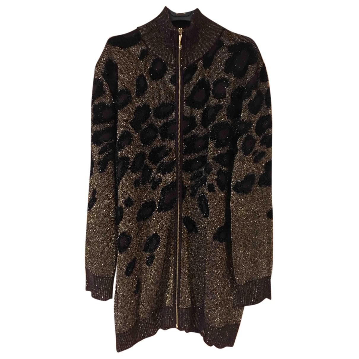 Just Cavalli - Pull   pour femme en laine - marron