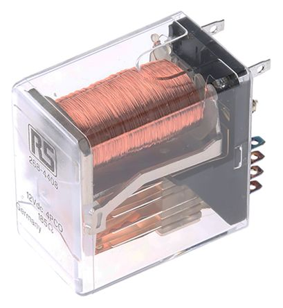 TE Connectivity , 12V dc Coil Non-Latching Relay 4PDT, 2A Switching Current PCB Mount, 4 Pole