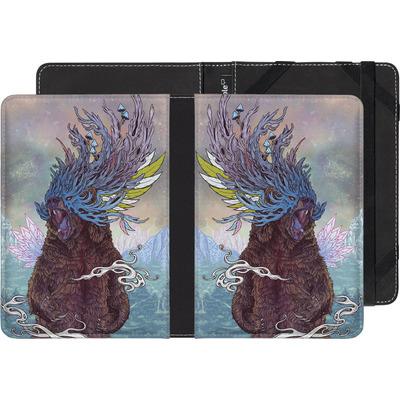 Sony Reader PRS-T3 eBook Reader Huelle - Journeying Spirit - Bear von Mat Miller