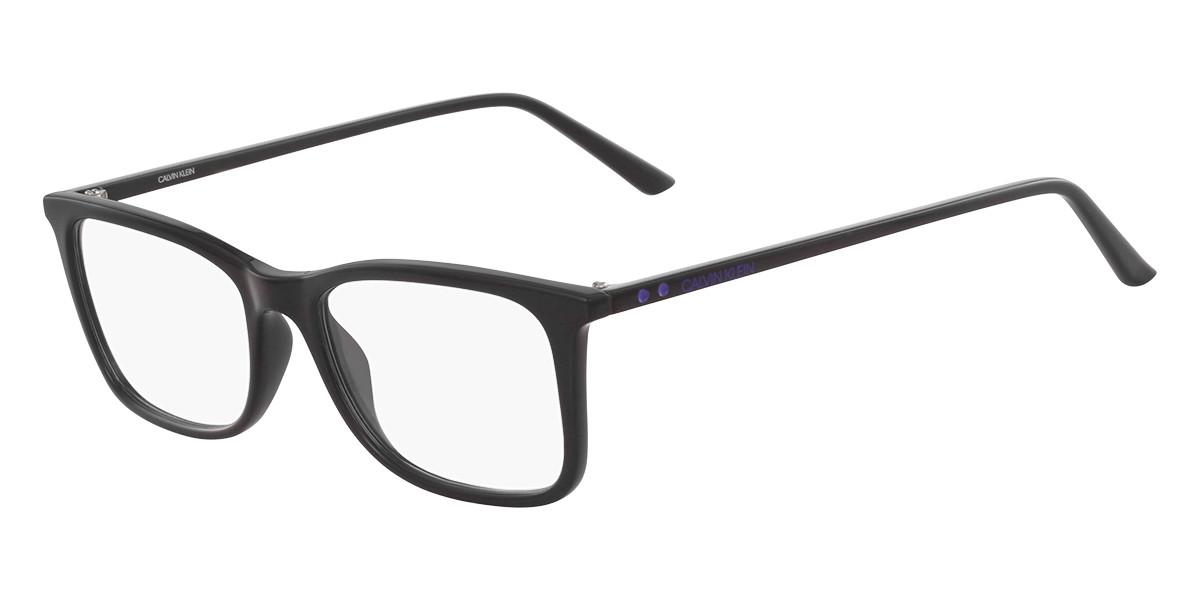 Calvin Klein CK18545 001 Men's Glasses Black Size 55 - Free Lenses - HSA/FSA Insurance - Blue Light Block Available