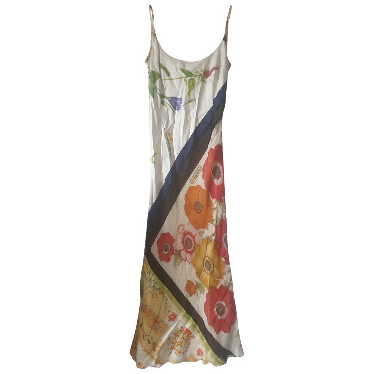 Salvatore Ferragamo - Robe   pour femme en soie - multicolore
