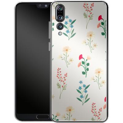 Huawei P20 Pro Silikon Handyhuelle - Leafy Green von Iisa Monttinen