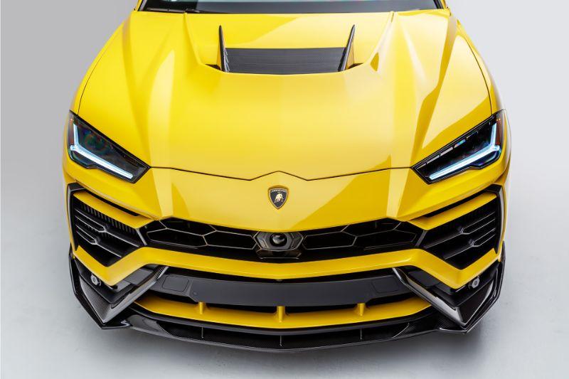 Vorsteiner 2020LOV UX-07 Edizione Aero Front Spoiler Carbon Fiber PP 2x2 Glossy Lamborghini Urus 18-20