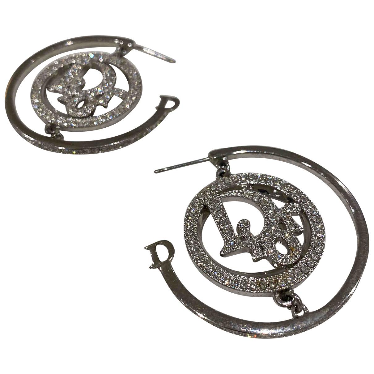 Dior - Boucles doreilles   pour femme en metal - metallise