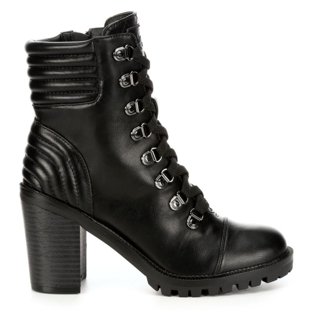 Gbg Los Angeles Womens Jetti Chunky Heel Boot