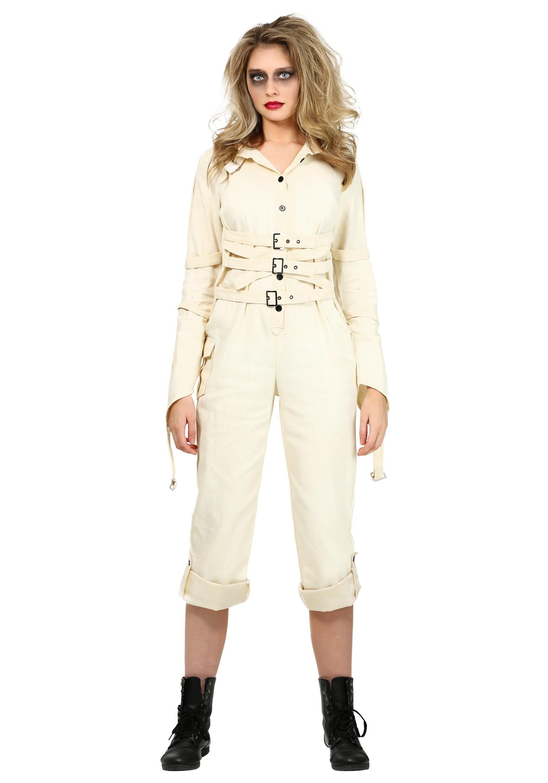 Plus Size Women's Insane Asylum Costume 1X 2X