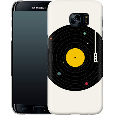 Samsung Galaxy S7 Edge Smartphone Huelle - Music Everywhere von Florent Bodart