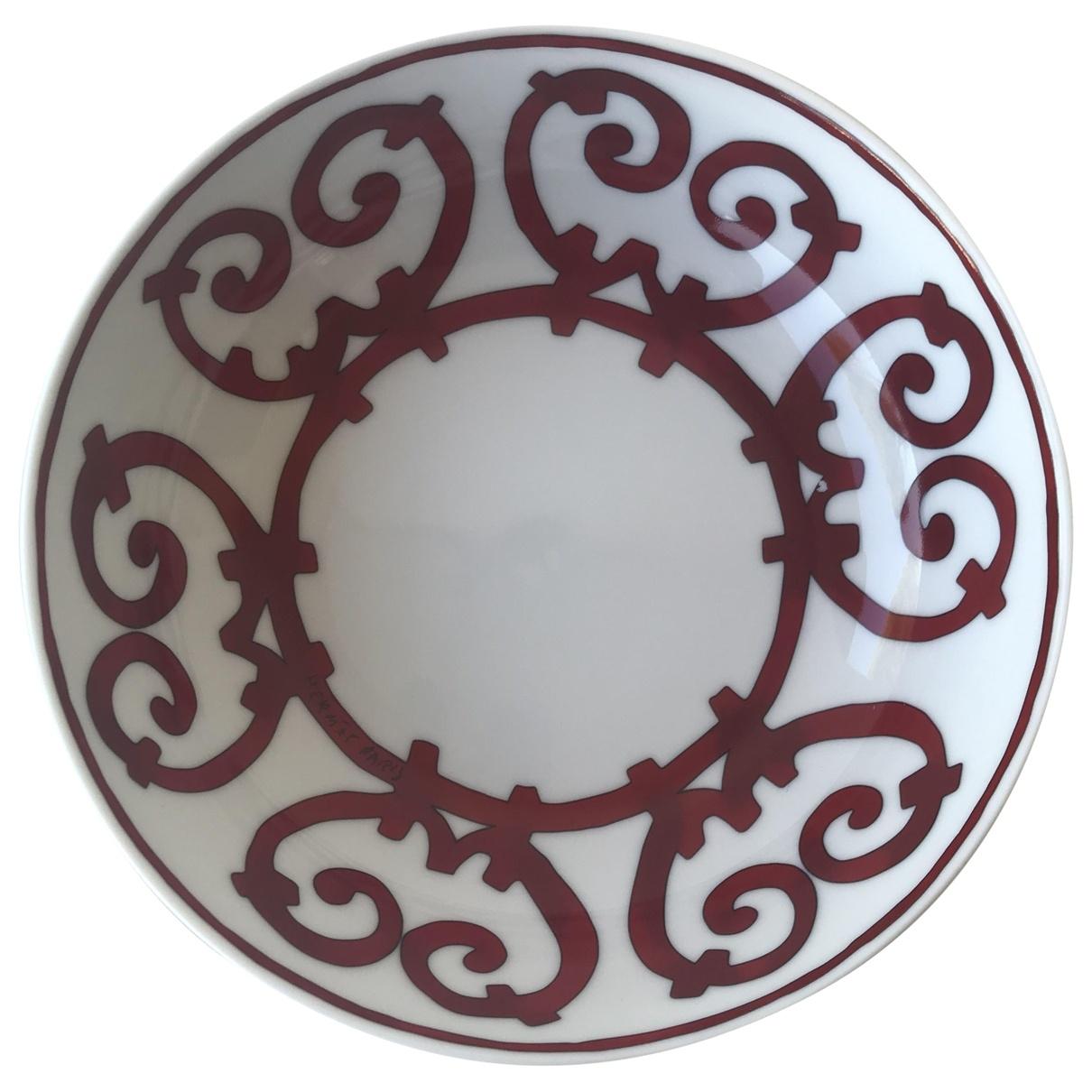 Hermes Balcon du Guadalquivir Tischkultur in  Rot Keramik