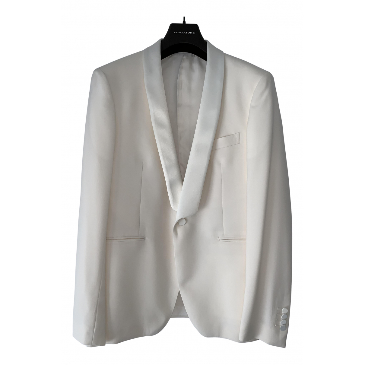 Tagliatore - Vestes.Blousons   pour homme en laine - blanc