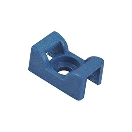 Thomas & Betts Natural Cable Tie Mount 14 mm x 23mm, 7.6454mm Max. Cable Tie Width