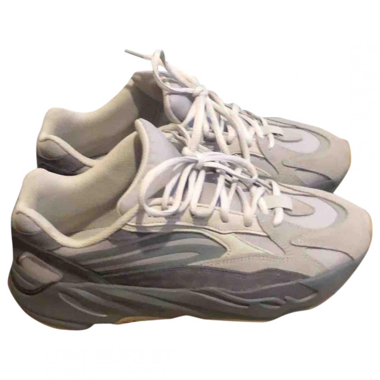 Yeezy X Adidas - Baskets Boost 700 V2 pour homme en toile - gris