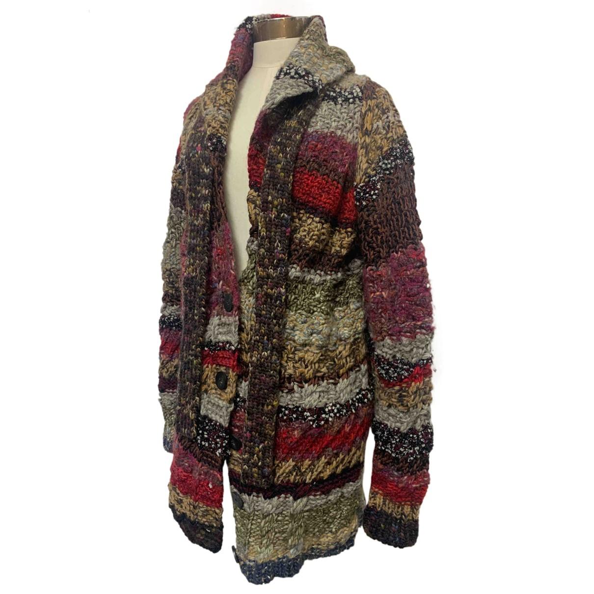 Dior N Multicolour Wool Knitwear for Women 40 IT