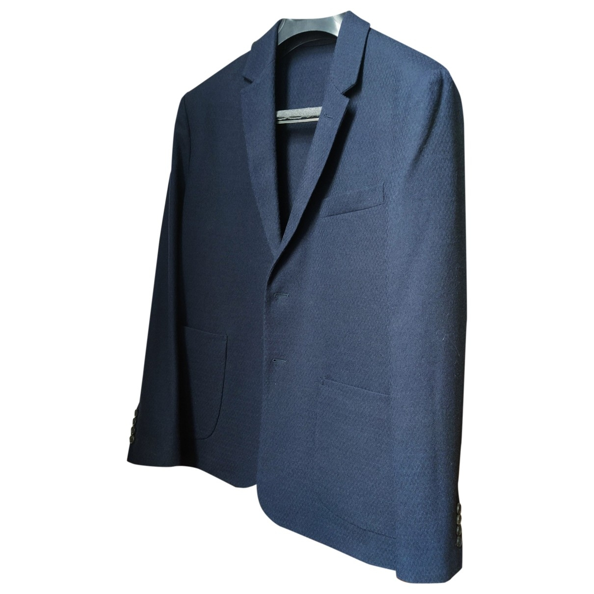 Faconnable \N Navy Wool jacket  for Men 48 FR