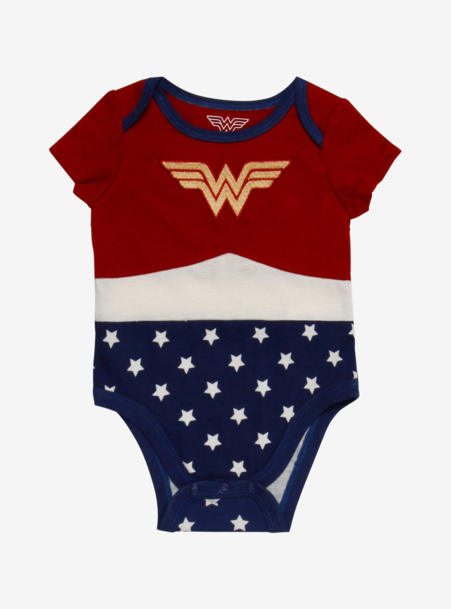DC Comics Wonder Woman Infant One-Piece - BoxLunch Exclusive