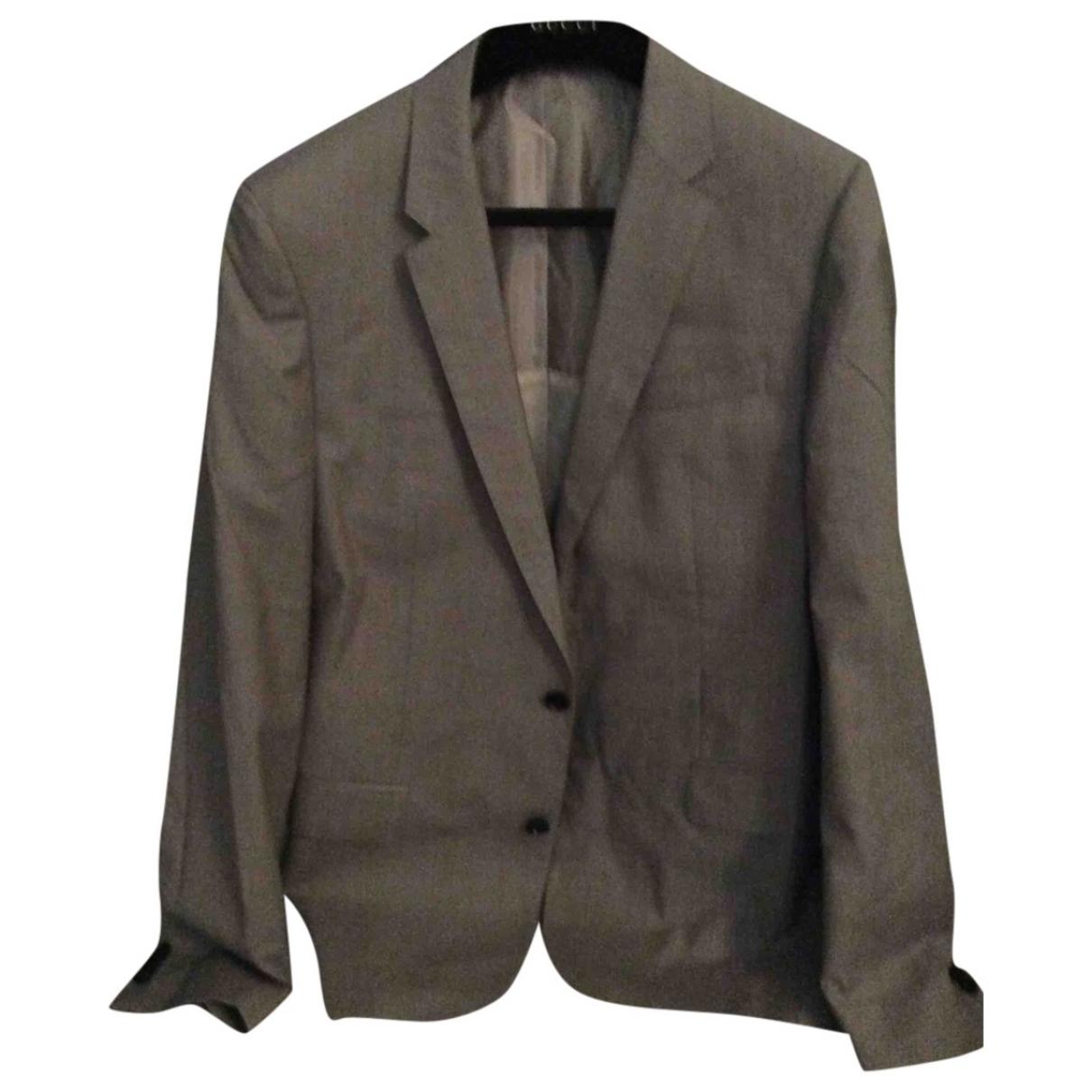 Boss - Costumes   pour homme en laine - beige