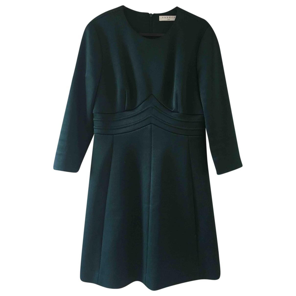 Sandro - Robe   pour femme - vert