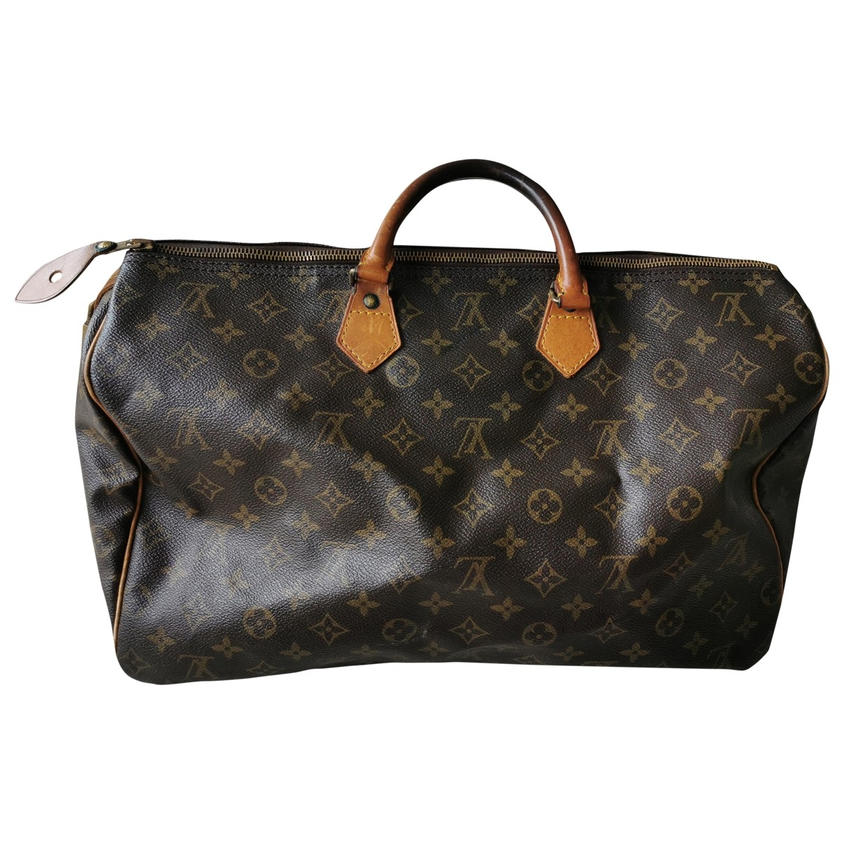 Louis Vuitton Speedy Brown Leather handbag for Women \N