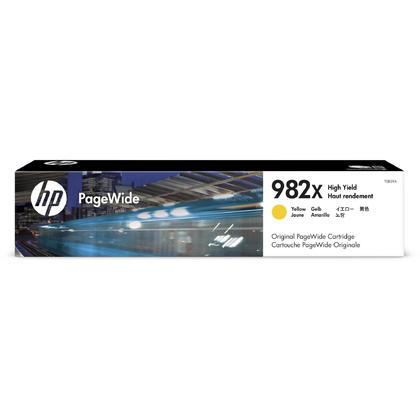 HP 982X T0B29A Original Yield PageWide Ink Cartridge Yellow High