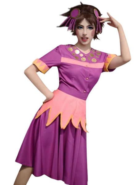 Milanoo JoJos Bizarre Adventure Jojos Tequila Girl Cosplay Costume