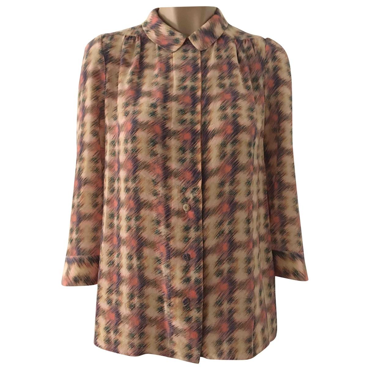 Tara Jarmon \N Multicolour Silk  top for Women 38 FR