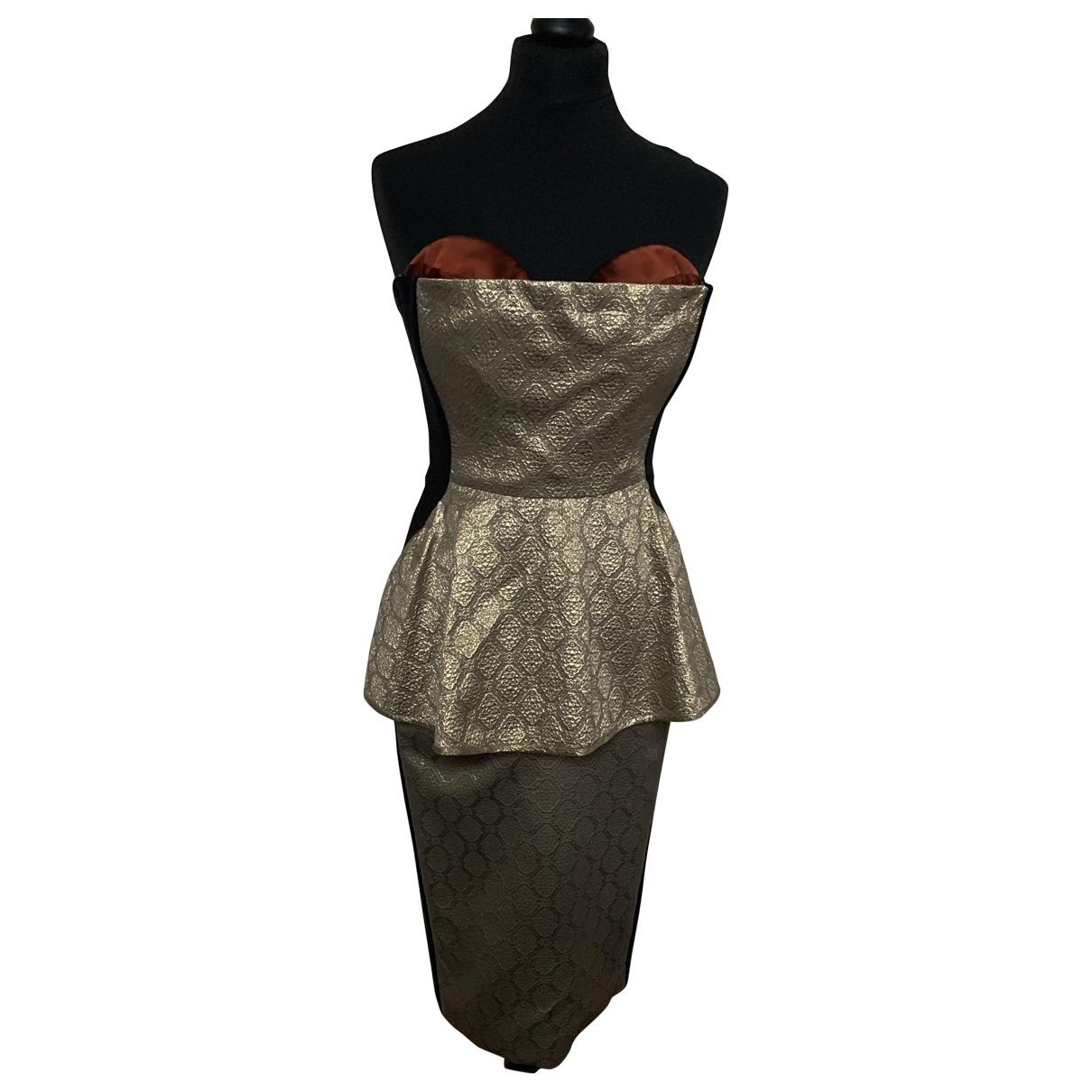 Stella Mccartney \N Kleid in  Bunt Seide